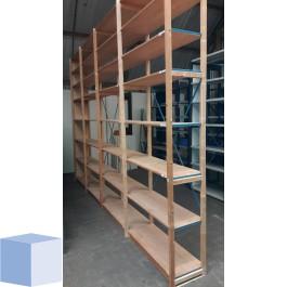 Lundia legbordstelling  2780x1000x400mm. aanbouwvak