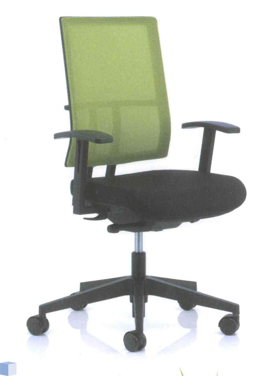Fijne Zwarte Bureaustoel.Kohl Bureaustoel Anteo