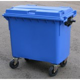 Kunststof container 660 liter
