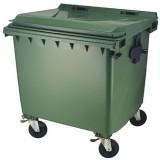 Kunststof container 1100 liter