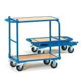 Tafelwagen FEKW4, opklapbaar, laadvlak 720x450mm.