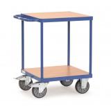 Zware tafelwagen 2496, laadvlak 600x600mm.