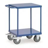 Zware tafelwagen 2496B, laadvlak 600x600mm.