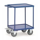 Zware tafelwagen 2496W, laadvlak 600x600mm.