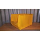 Kunststof magazijnbak 500x300x300mm. geel