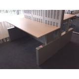Mewaf Flexbox bureau 180x80cm. electrisch verstelbaar VERKOCHT