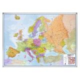 Wegenkaart, Europa, 100x137cm