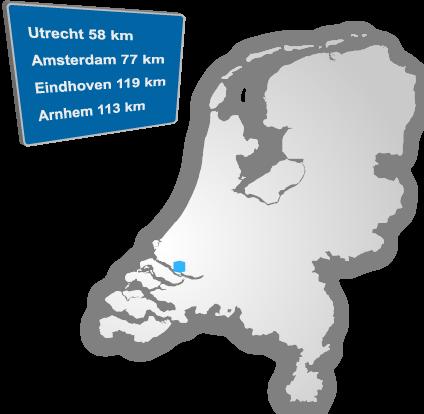 Centrale ligging Rotterdam